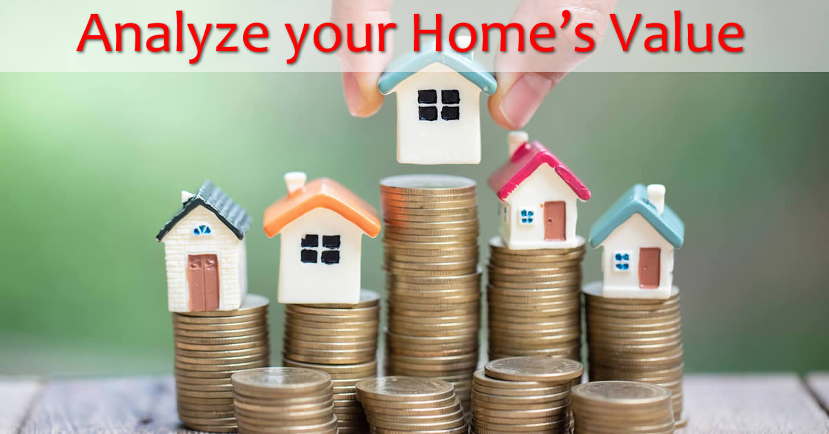 What is your home's value, find out now - online!